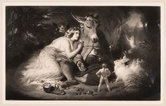 "Samuel Cousins (British, Exeter 1801–1887 London). After Sir Edwin Henry Landseer (British, London 1802–1873 London). A Midsummer Night's Dream (Shakespeare, Act 4, Scene 1),  1857. The Metropolitan Museum of Art, New York. Harris Brisbane Dick Fund, 1947(47.30.46) | This work is exhibited in the ""Drawings and Prints: Selections from the Permanent Collection"" exhibition, on view through July 18, 2016."