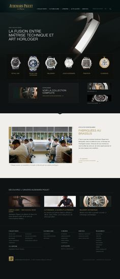 website layout inspirations