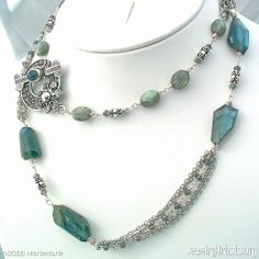 fiery labradorite necklace