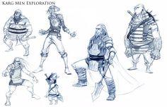 A Wizard of Earthsea: A Vis Dev Project