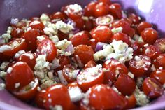 """Point-less"" Meals: Tomato Gorgonzola Salad"