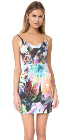 Black Halo Jevette Mini Dress | SHOPBOP