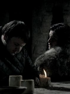 A Game Of Tthrones Jon and Sam at At The Wall Via google.ca