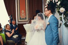 Wedding ceremony in Savoy (Moscow)