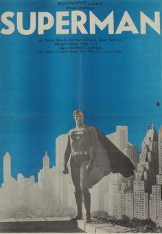 Richard Donner, Love Posters, Marlon Brando, Romania, Superman, Graphic Art, Retro, The Past, History