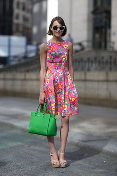Spring is in the air - get inspired by these NY street style snaps.