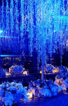Winter Wonderland Reception II: Centerpieces | Inspirations by Preston Bailey