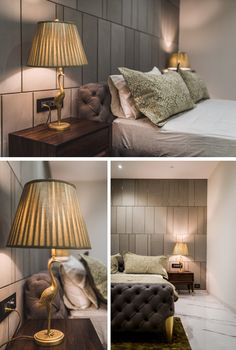 Luxurious Penthouse Interior design Bedroom Decor With Beautiful Artifacts