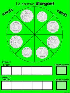 Un jeu plaisant pour apprendre à calculer de la monnaie. (monnaie canadienne)