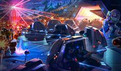 Buzz Lightyear Planet Rescue, Tomorrowland, Shanghai Disneyland