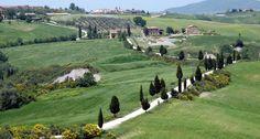 Randonnée collines Toscanes, Italie
