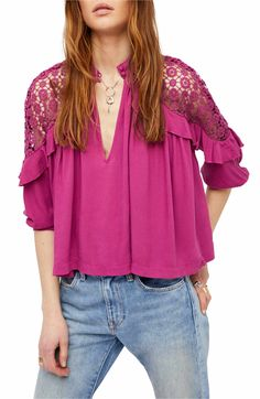 Main Image - Free People Little Bit of Love Top