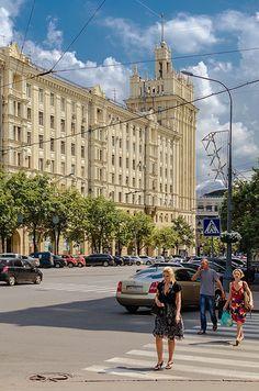 Дом со шпилем. Харьков. Украина.