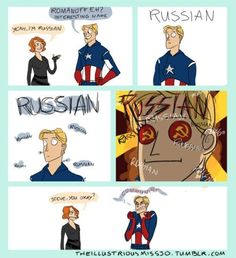 Never really thought of it this way before, even if the Cold War started after Captain Rogers was frozen