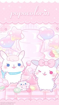 Ideas for cats illustration cute backgrounds Kawaii Background, Cat Background, Soft Wallpaper, Kawaii Wallpaper, Kawaii Cute Wallpapers, Cute Animal Videos, Cute Animal Pictures, Cute Animal Drawings, Cool Drawings
