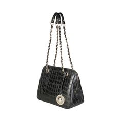 Versace Jeans, Dust Bag, Chanel, Zip, Leather, Shoulder Bags, Pockets, Interior, Shopping