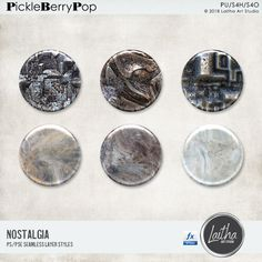 Nostalgia - Layer Styles By Laitha Art Studio