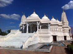 Toured the BAPS Temple Taj Mahal, Temple, Georgia, Tours, Building, Travel, Viajes, Temples, Buildings