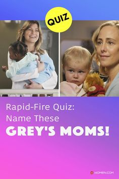This trivia quiz will test your knowledge on how well you recognize all of these beautiful Grey's Anatomy moms. #greys #greysmom #greysbabies #momsofgreys #greysanatomymom #shondaland #greysLove #greysrandomQuiz #greysFan #meredithgrey #shonda #GreysAnatomy #greysquiz #greysnostalgia #greysAnatomyTrivia