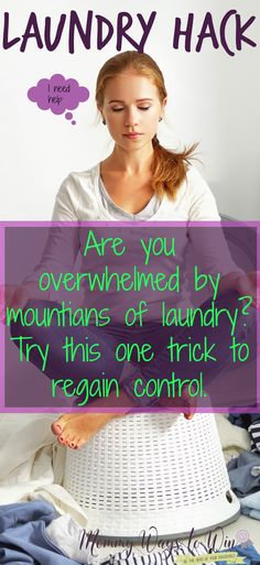 someone finally came up with a laundry hack that I can follow, lol, I love this idea