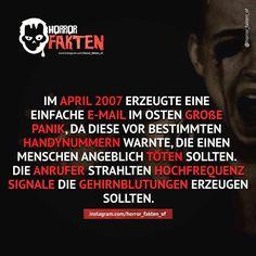 Niemals abheben #horror #horrorfakten #fakten