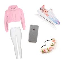 """Untitled #5"" by laylad143 ❤ liked on Polyvore featuring NIKE and Topshop"
