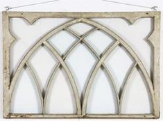 Gothic Window Frame With