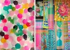 so MUCH design inspiration on this site ColoursFamilleSummerbelle2