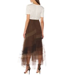 a29aaffeea Brunello Cucinelli - Tulle midi skirt | Mytheresa Brunello Cucinelli, High  Class, Camisole,