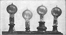 October 21, 1879 – Thomas Edison invents a workable electric light bulb at his laboratory in Menlo Park, N.J. which was tested the next day and lasted 13.5 hours. This would be the invention of the first commercially practical incandescent light. Popular belief is that he invented the first light bulb, which he did not.
