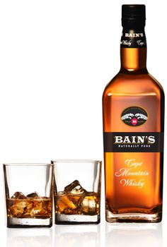 Bain's Cape Mountain Whisky - first South African Whiskey I've ever had.  And I want more.