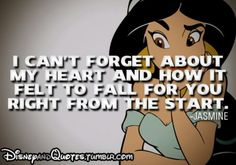 Inspiring quote by Jasmine from Aladdin