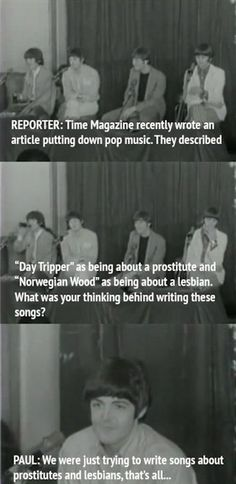 They defended their art: | Definitive Proof The Beatles Were The Original Trolls