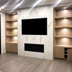 white oak fireplace millwork is a beauty! The white oak fireplace millwork is a beauty!The white oak fireplace millwork is a beauty! Tablaroca para diseño de interiores y muebles 2019 - 2020 48 Beautiful Fireplace Fall Décor Ideas For Living Room Fireplace Tv Wall, Linear Fireplace, Fireplace Remodel, Modern Fireplace, Fireplace Surrounds, Fireplace Design, Fireplace Ideas, Living Room Tv, Living Room With Fireplace