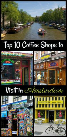 Called by many as Holland, the city of Amsterdam is the most visited center in the Netherlands. Current stats have shown that more than million tourists are coming to visit Amsterdam per year. Amsterdam Shopping, Amsterdam City, Amsterdam Travel, Amsterdam Coffee Shops, Amsterdam Netherlands, Amsterdam Living, Amsterdam Itinerary, Europe Travel Tips, Van Gogh Museum