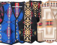 Wool Reversible Shawl / Wrap / Cape / Cloak by NightOwlMarket