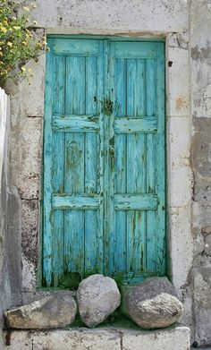 Colorful Doors = love