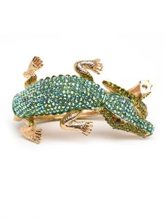What a cute accessory for Florida Gator girls! Gator bangle, $32 - Bauble Bar