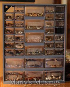 jewelry organization earrings and bracelets, organizing, repurposing upcycling, storage ideas