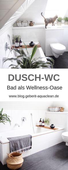 Badezimmer In Eine Wellness Oase Verwandeln: Dusch WC Geberit AquaClean