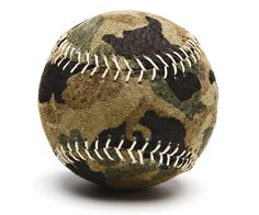 camo baseball, combining two of my favorites!