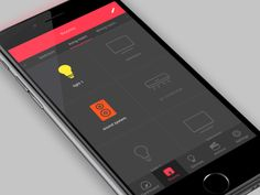 Smart Home App - 3d touch - switch on/off by Rodrigo