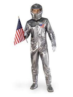 Halloween Silver Astronaut - Adult Costume