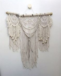 17 Best ideas about Macrame Curtain on Pinterest | How to ...