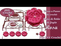 Capa para pote de cozinha Bella - JNY Crochê - YouTube