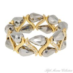 Gold Bracelet - Miss Hollywood - Australia - Fifth Avenue Collection - Jewellery that changes the way you see fashion