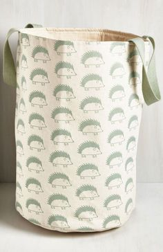 This practical and pretty laundry bag. | Community Post: 44 Super Cute Products Every Hedgehog Lover Needs