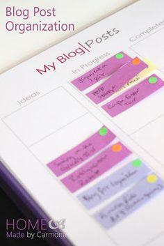 Blog Planner - Post