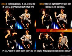 After Jared pranked Jensen and Sebastian - video