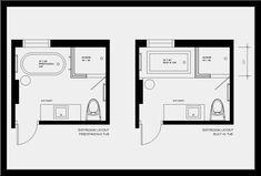Bathroom Floor Plans, Bathroom Flooring, How To Plan, Day, Image